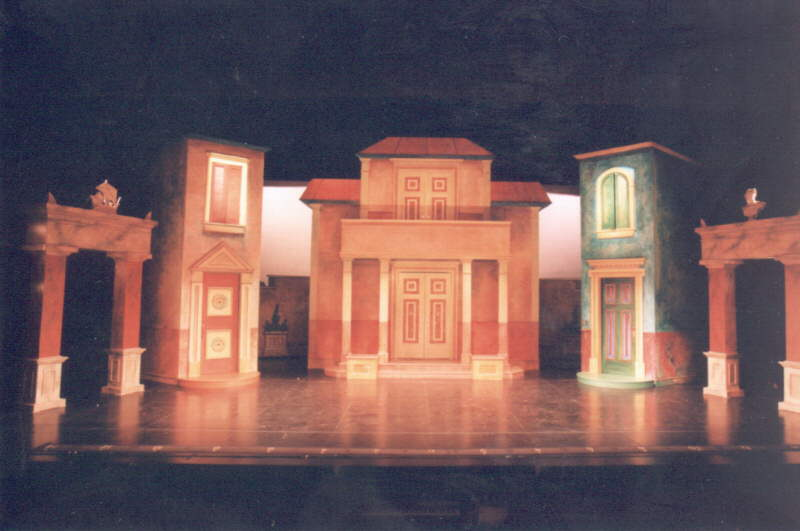 Gateway Playhouse Set Rentals A Funny Thing Happened
