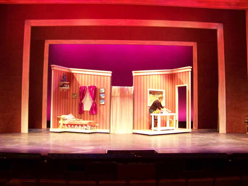 Gateway Playhouse Set Rentals Legally Blonde